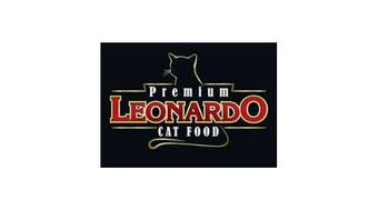 LEONARDO Cat food Logo